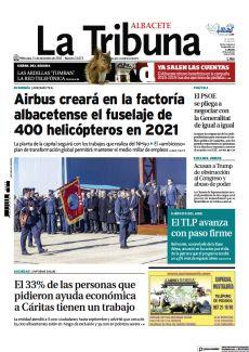 AIRBUS CREARÁ EN LA FACTORÍA ALBACETENSE EL FUSELAJE DE 400 HELICÓPTEROS EN 2021