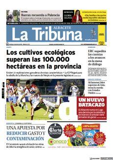 LOS CULTIVOS ECOLÓGICOS SUPERAN LAS 100.000 HECTÁREAS EN LA PROVINCIA