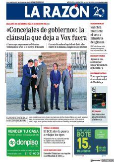 EL REY RECONCILIA A LOS EX PRESIDENTES