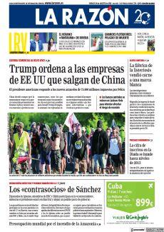 TRUMP ORDENA A LAS EMPRESAS DE EE UU QUE SALGAN DE CHINA