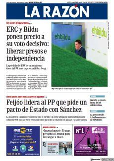 ERC Y BILDU PONEN PRECIO A SU VOTO DECISIVO: LIBERAR PRESOS E INDEPENDENCIA