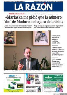 «MARLASKA ME PIDIÓ QUE LA NÚMERO 'DOS' DE MADURO NO BAJARA DEL AVIÓN»