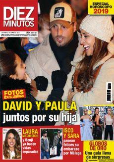 DAVID Y PAULA JUNTOS POR SU HIJA