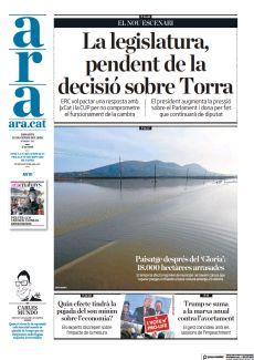 PAISATGE DESPRÉS DEL 'GLORIA': 18.000 HECTÀREES ARRASADES