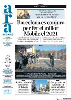 """""""SINCERAMENT, EM PENSAVA QUE NO ES CANCEL·LARIA"""" BARCELONA ES CONJURA PER FER EL MILLOR MOBILE EL 2021"""