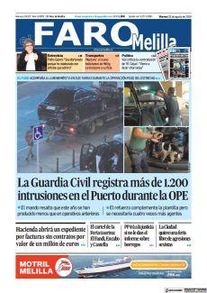 LA GUARDIA CIVIL REGISTRA MÁS DE 1.200 INTRUSIONES EN EL PUERTO DURANTE LA OPE