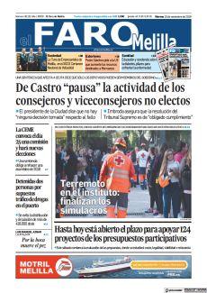 TERREMOTO EN EL INSTITUTO: FINALIZAN LOS SIMULACROS
