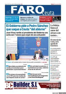 """EL GOBIERNO PIDE A PEDRO SÁNCHEZ QUE SAQUE A CEUTA """"DEL ABISMO"""""""