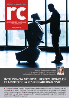 INTELIGENCIAARTIFICIAL. REPERCUSIONES EN EL ÁMBITO DE LA RESPONSABILIDAD CIVIL