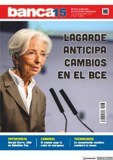 LAGARDE ANTICIPA CAMBIOS EN EL BCE