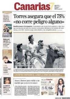 TORRES ASEGURA QUE EL 75% «NO CORRE PELIGRO ALGUNO» BONIFICACIONES AL TRANSPORTE.