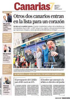 OTROS DOS CANARIOS ENTRAN EN LA LISTA PARA UN CORAZÓN