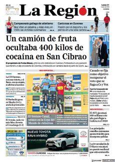 UN CAMIÓN DE FRUTA OCULTABA 400 KILOS DE COCAÍNA EN SAN CIBRAO
