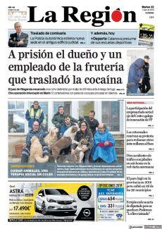 A PRISIÓN EL DUEÑO Y UN EMPLEADO DE LA FRUTERÍA QUE TRASLADÓ LA COCAÍNA