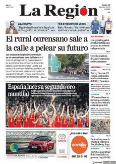 EL RURAL OURENSANO SALE A LA CALLE A PELEAR SU FUTURO