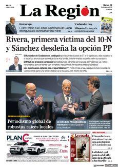 RIVERA, PRIMERA VÍCTIMA DEL 10-N Y SÁNCHEZ DESDEÑA LA OPCIÓN PP