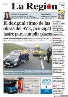 CUATRO HERIDOS, DOS DE ELLOS GRAVES AL VOLCAR EN LA A-52
