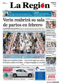 VERÍN REABRIRÁ SU SALA DE PARTOS EN FEBRERO