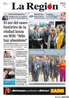 """EL SUR DEL CASCO HISTÓRICO DE LA CIUDAD LANZA UN SOS: """"SÓLO HAY ABANDONO"""