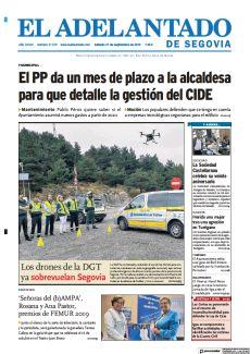LOS DRONES DE LA DGT YA SOBREVUELAN SEGOVIA
