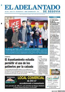 LOS JÓVENES DEL PSOE Y DEL PP DEFIENDEN LA CONSTITUCIÓN.
