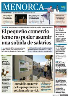 CIUTADELLA: UN TERCIO DE LOS PARQUÍMETROS ESTÁ FUERA DE SERVICIO