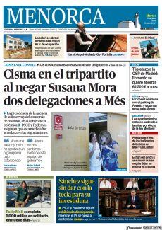 CISMA EN EL TRIPARTITO AL NEGAR SUSANA MORA DOS DELEGACIONES A MÉS