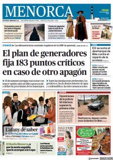EL PLAN DE GENERADORES FIJA 183 PUNTOS CRÍTICOS EN CASO DE OTRO APAGÓN