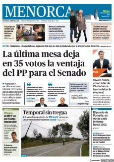 LA ÚLTIMA MESA DEJA EN 35 VOTOS LA VENTAJA DEL PP PARA EL SENADO