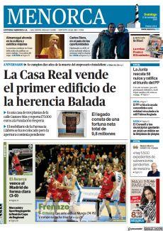 LA CASA REAL VENDE EL PRIMER EDIFICIO DE LA HERENCIA BALADA