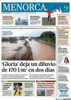 'GLORIA' DEJA UN DILUVIO DE 170 L/M2 EN DOS DÍAS