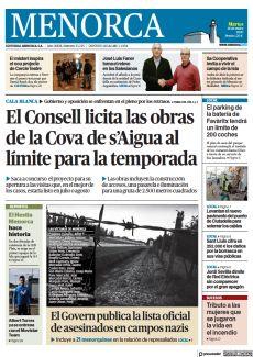 EL CONSELL LICITA LAS OBRAS DE LA COVA DE S'AIGUA AL LÍMITE PARA LA TEMPORADA