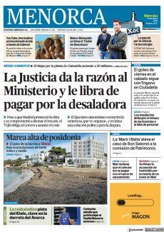 LA JUSTICIA DA LA RAZÓN AL MINISTERIO Y LE LIBRA DE PAGAR POR LA DESALADORA