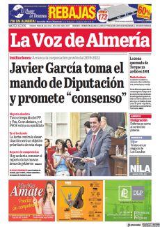 """JAVIER GARCÍA TOMA EL MANDO DE DIPUTACIÓN Y PROMETE """"CONSENSO"""""""
