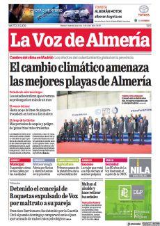 EL CAMBIO CLIMÁTICO AMENAZA LAS MEJORES PLAYAS DE ALMERÍA