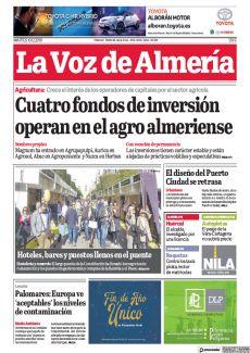 CUATRO FONDOS DE INVERSIÓN OPERAN EN EL AGRO ALMERIENSE