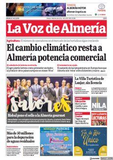 EL CAMBIO CLIMÁTICO RESTA A ALMERÍA POTENCIA COMERCIAL