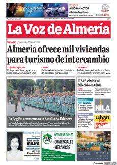 ALMERÍA OFRECE MIL VIVIENDAS PARA TURISMO DE INTERCAMBIO