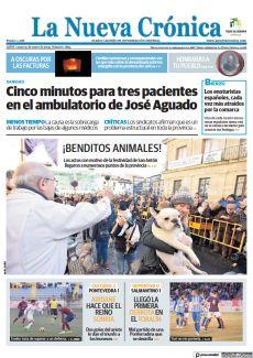 CINCO MINUTOS PARA TRES PACIENTES EN EL AMBULATORIO DE JOSÉ AGUADO