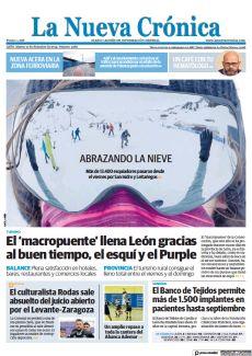 EL 'MACROPUENTE' LLENA LEÓN GRACIAS AL BUEN TIEMPO, EL ESQUÍ Y EL PURPLE