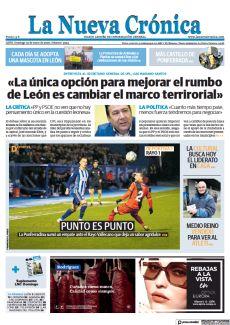 «LA ÚNICA OPCIÓN PARA MEJORAR EL RUMBO DE LEÓN ES CAMBIAR EL MARCO TERRIRORIAL»