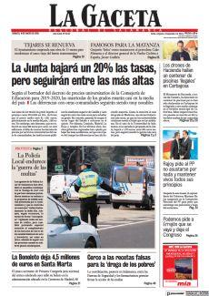 PROTESTA LA POLICÍA LOCAL ENDURECE LA 'GUERRA DE LAS MULTAS'