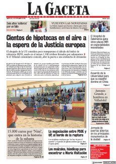 LA NEGOCIACIÓN ENTRE PSOE Y UP, AL BORDE DE LA RUPTURA