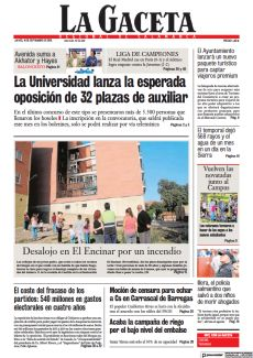 LA UNIVERSIDAD LANZA LA ESPERADA OPOSICIÓN DE 32 PLAZAS DE AUXILIAR