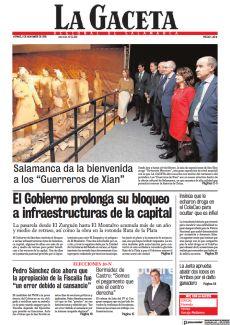 "SALAMANCA DA LA BIENVENIDA A LOS ""GUERREROS DE XIAN"""