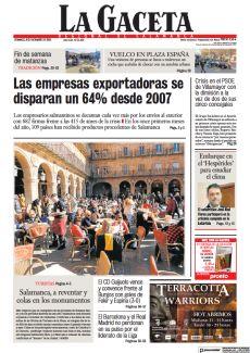 LAS EMPRESAS EXPORTADORAS SE DISPARAN UN 64% DESDE 2007