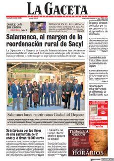 SALAMANCA BUSCA REPETIR COMO CIUDAD DEL DEPORTE
