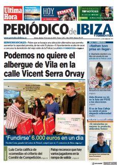 PODEMOS NO QUIERE EL ALBERGUE DE VILA EN LA CALLE VICENT SERRA ORVAY