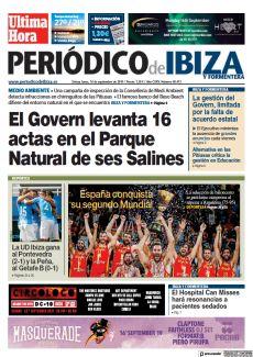 EL GOVERN LEVANTA 16 ACTAS EN EL PARQUE NATURAL DE SES SALINES