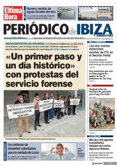 IBZ. Y FOR. «UN PRIMER PASO Y UN DÍA HISTÓRICO» CON PROTESTAS DEL SERVICIO FORENSE